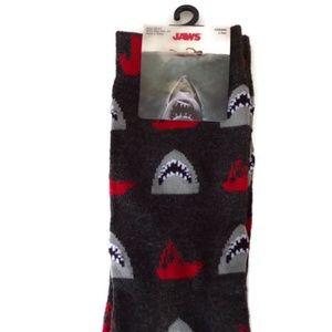 Jaws Mens Novelty Crew Socks MA1239